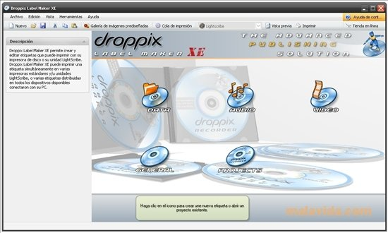 droppix label maker gratuit