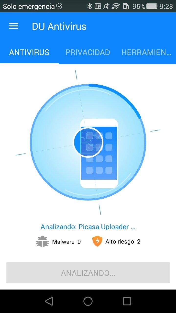 DU Antivirus Android image 5