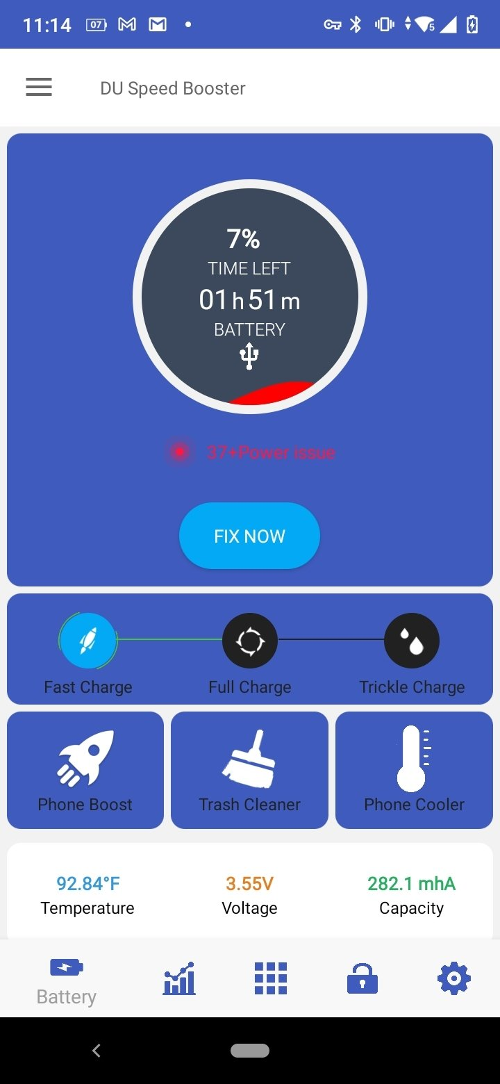 DU Speed Booster Android image 8