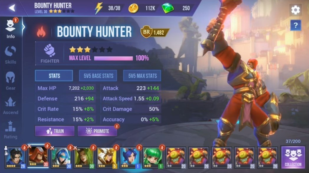 dungeon hunter 1 hd apk
