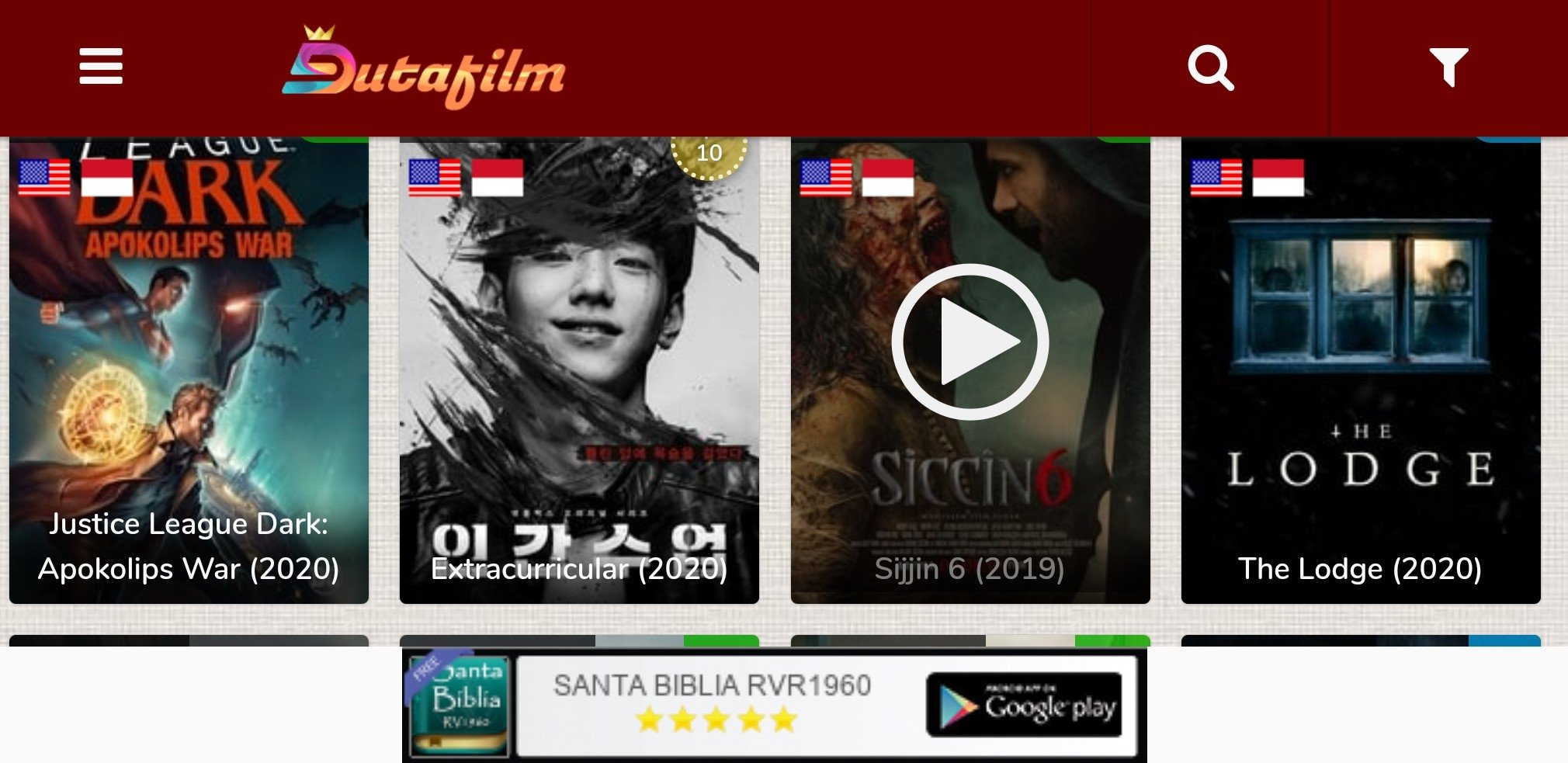 Dutafilm Apk Download For Android Watch Movies Apkshelf