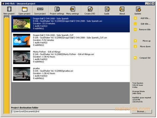 dvd flick 1.3 0.7