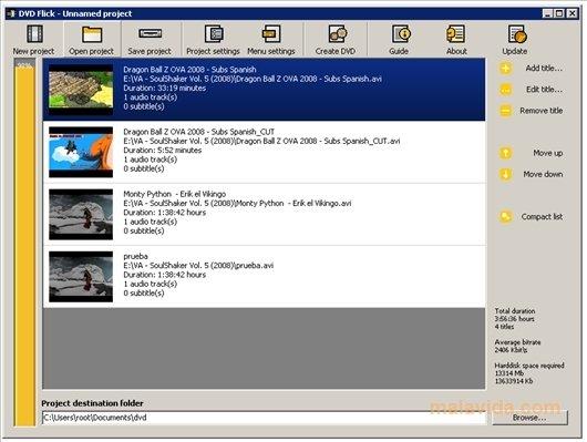 DVD Flick image 4