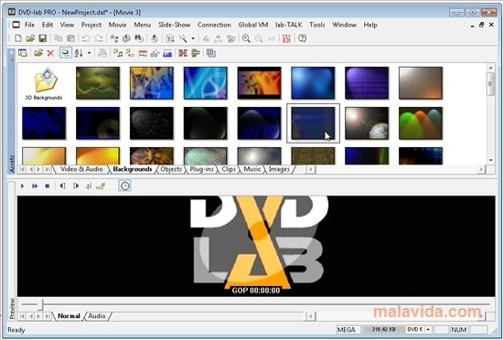 Dvd-lab pro 2. 52 | software digital digest.