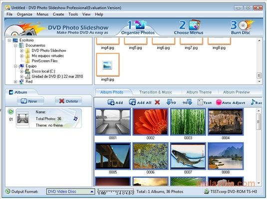 dvd photo slideshow professional software free download