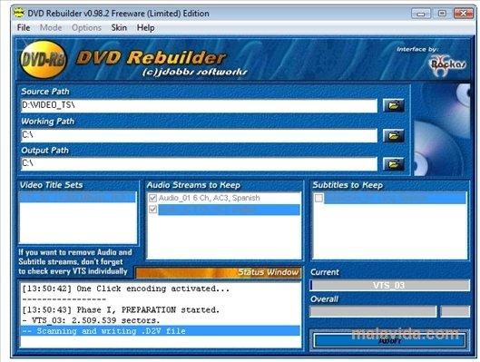 DVD Rebuilder image 4