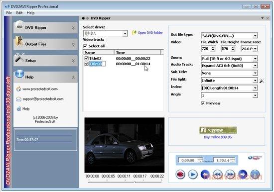 DVD2AVI Ripper image 4