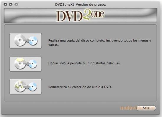 DVD2oneX Mac image 4