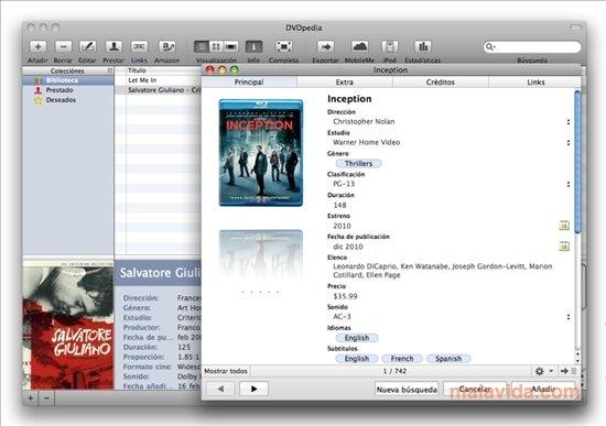 DVDpedia Mac image 7