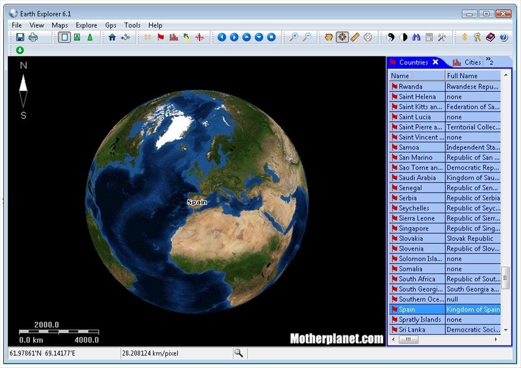 Earth Explorer image 7