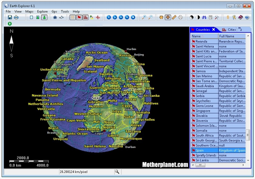 earth explorer download free