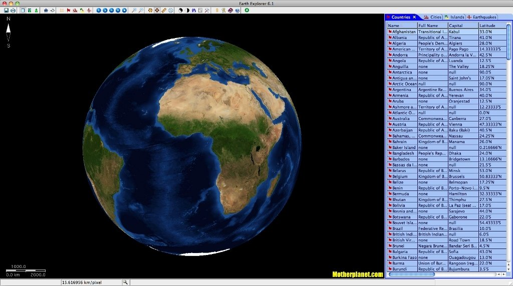 Earth Explorer Mac image 7
