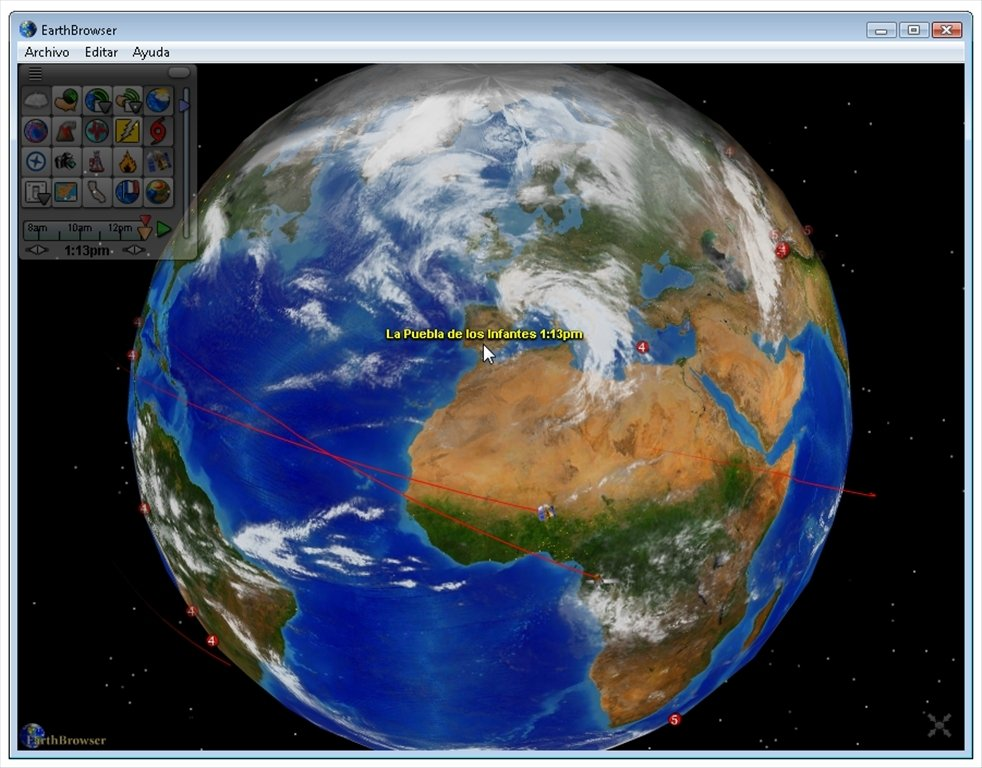 EarthBrowser image 6