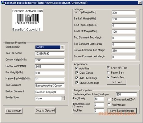 EaseSoft Barcode image 2