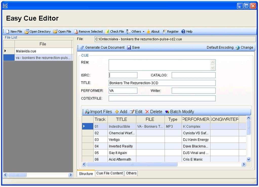 Easy Cue Editor image 4