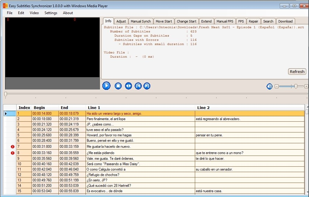 Easy Subtitles Synchronizer image 4