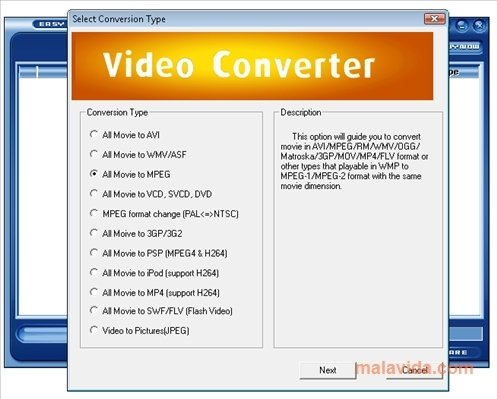 Easy Video Converter image 4