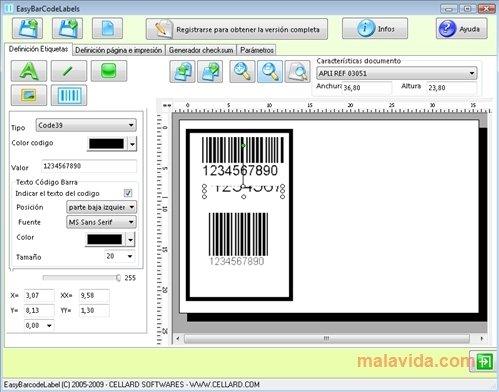 EasyBarCodeLabels image 4
