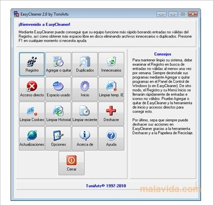 WIN7 TÉLÉCHARGER EASYCLEANER