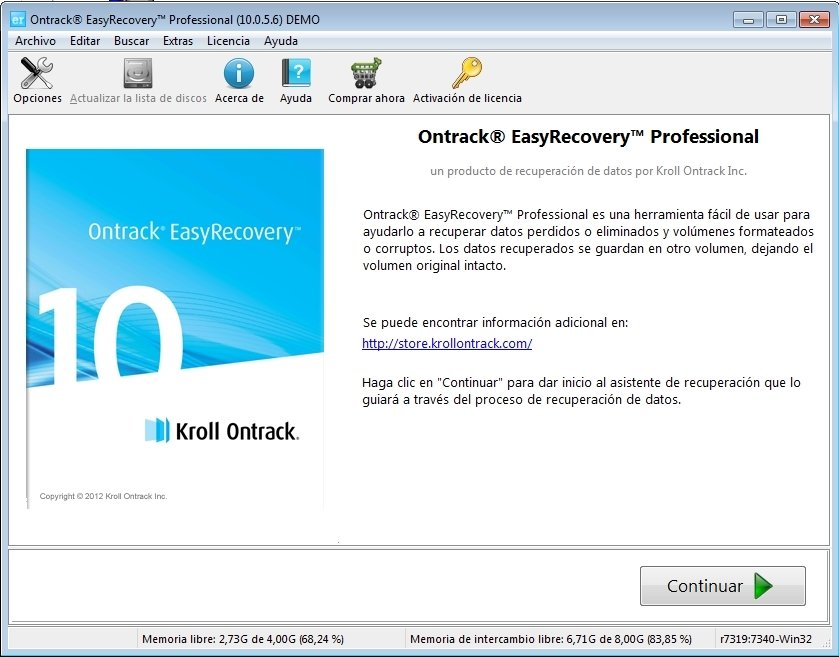 GRATUITEMENT EASY RECOVERY PRO V 6.04
