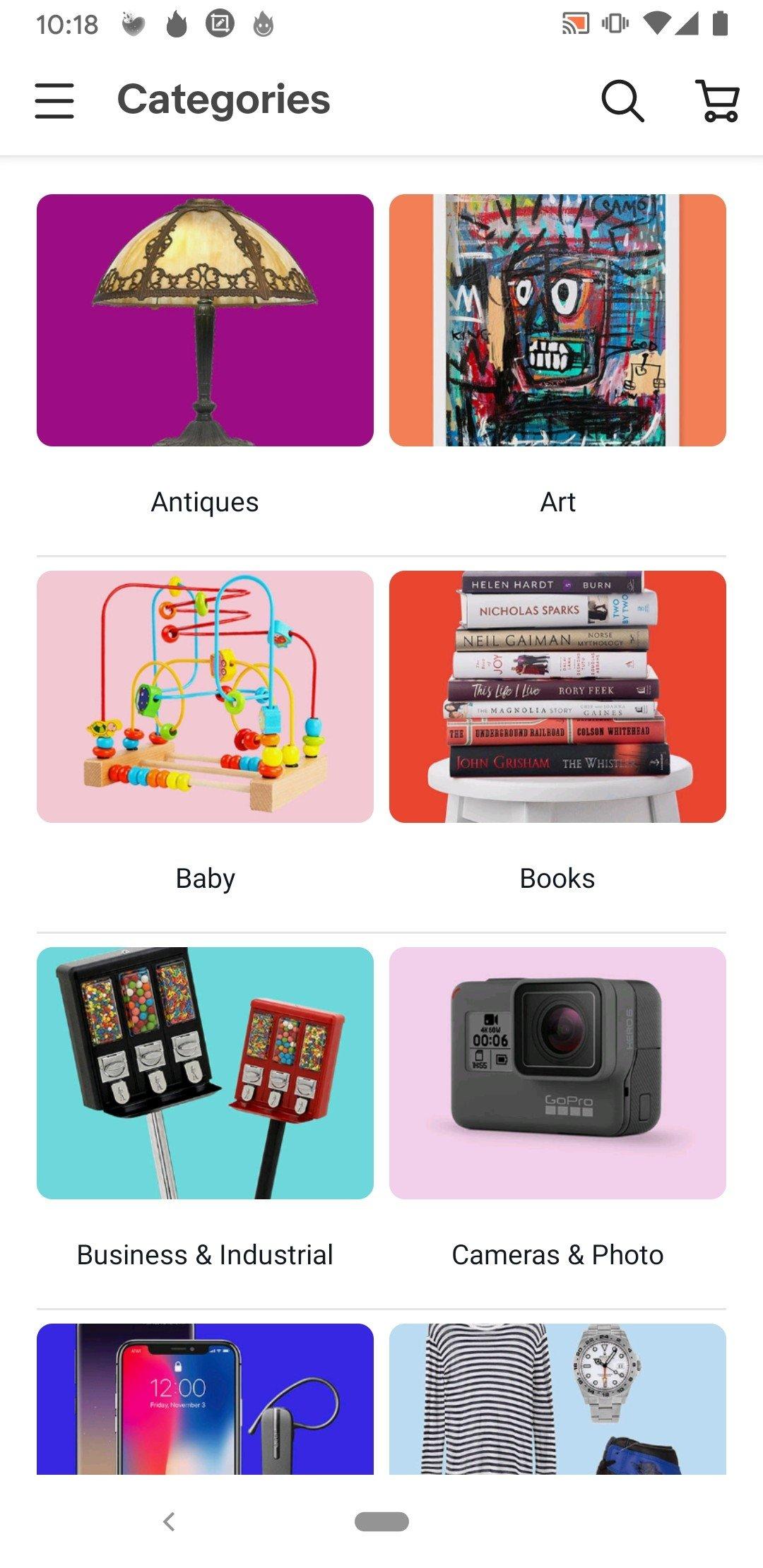 Ebay compra smartphone arredamento altro in italiano for Ebay arredamento