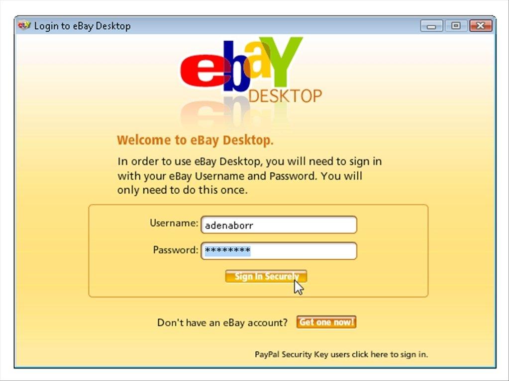 Pictures Of Ebay Desktop