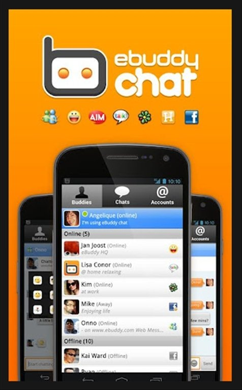 eBuddy Messenger Android image 5