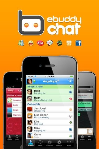 eBuddy Messenger iPhone image 5