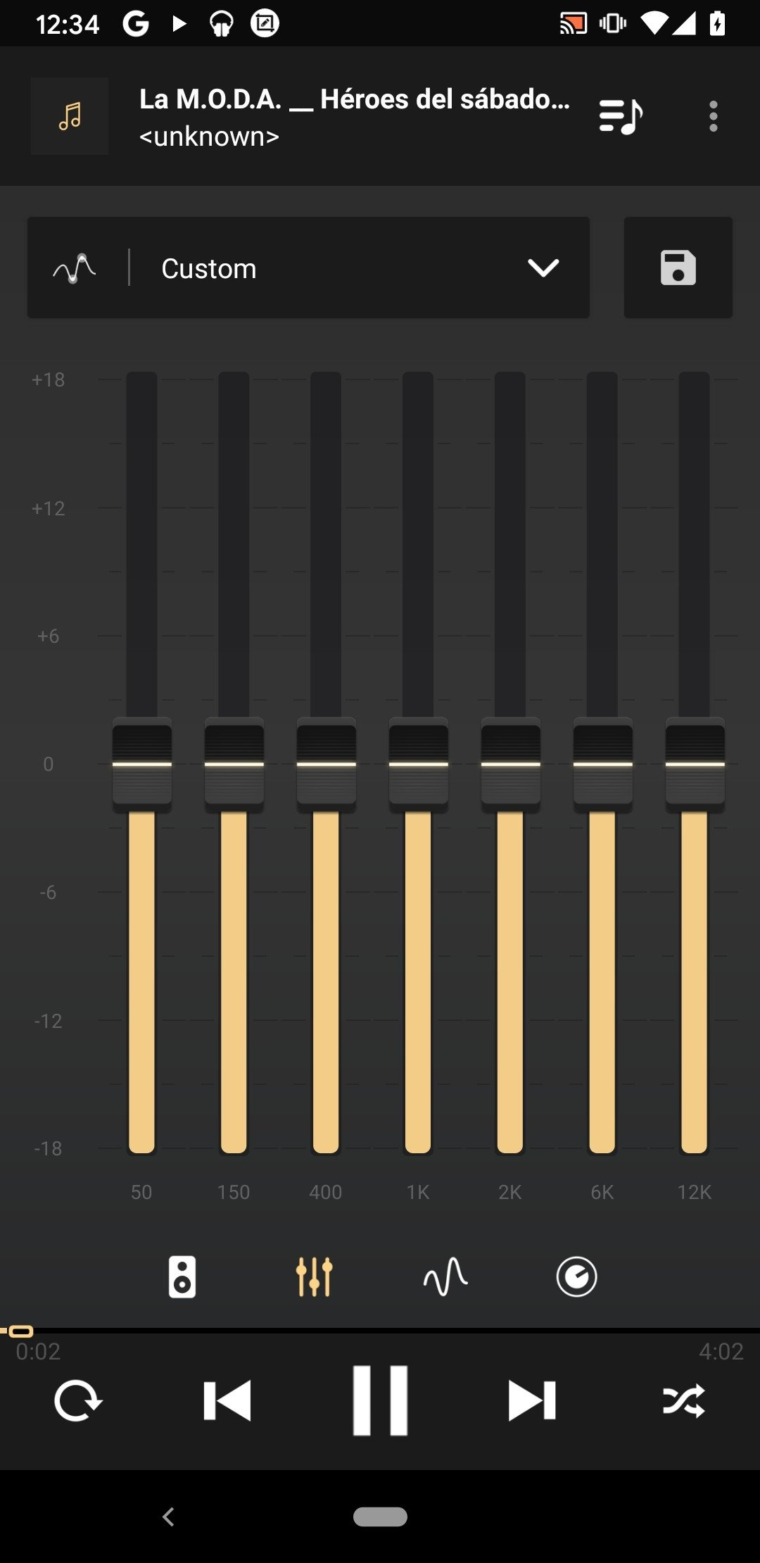 descargar visualizador de musica para android