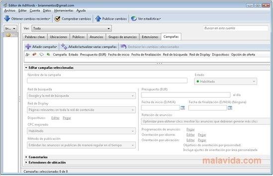 AdWords Editor image 6