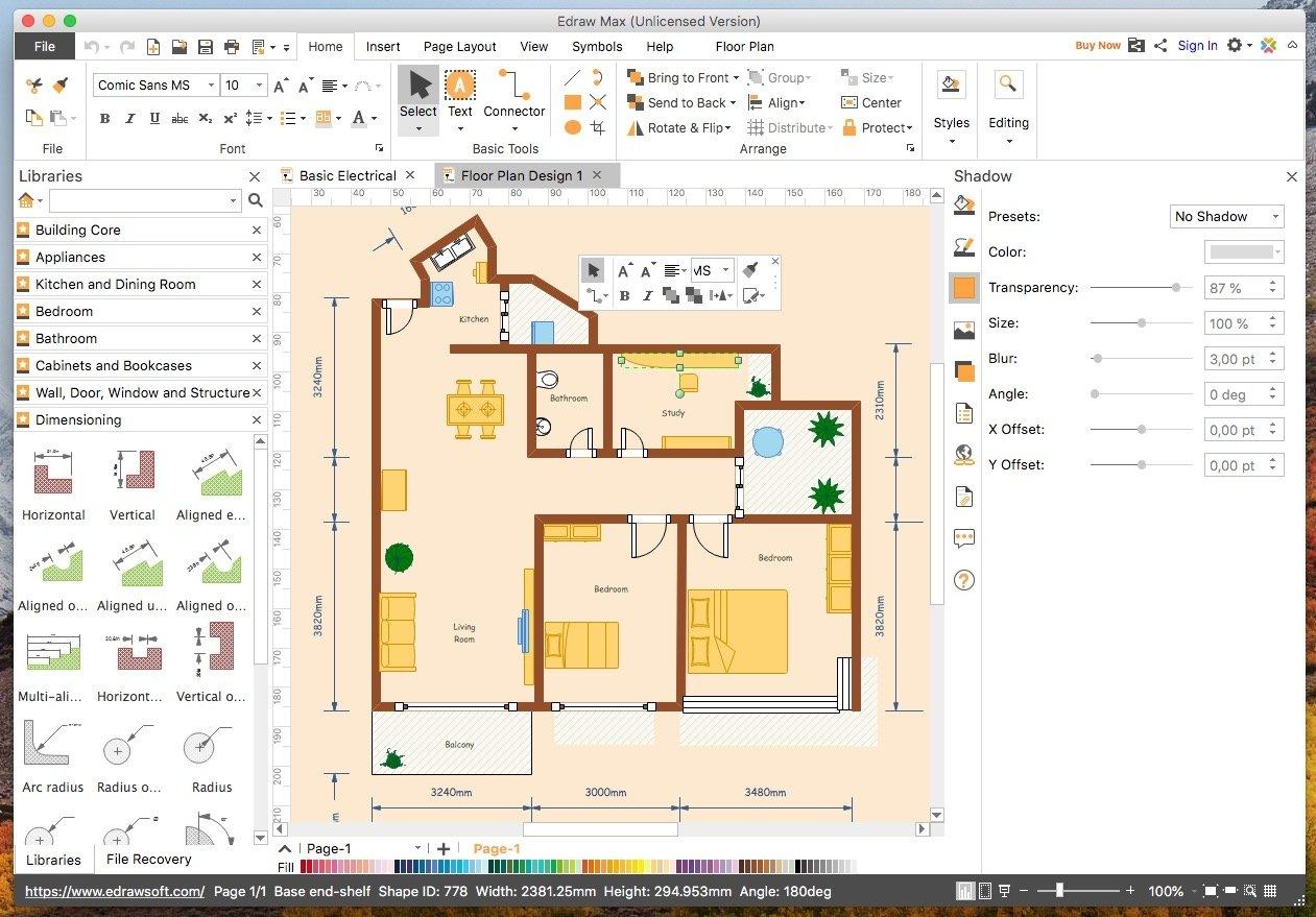 Edraw Max 9 4 1 Download Für Mac Kostenlos
