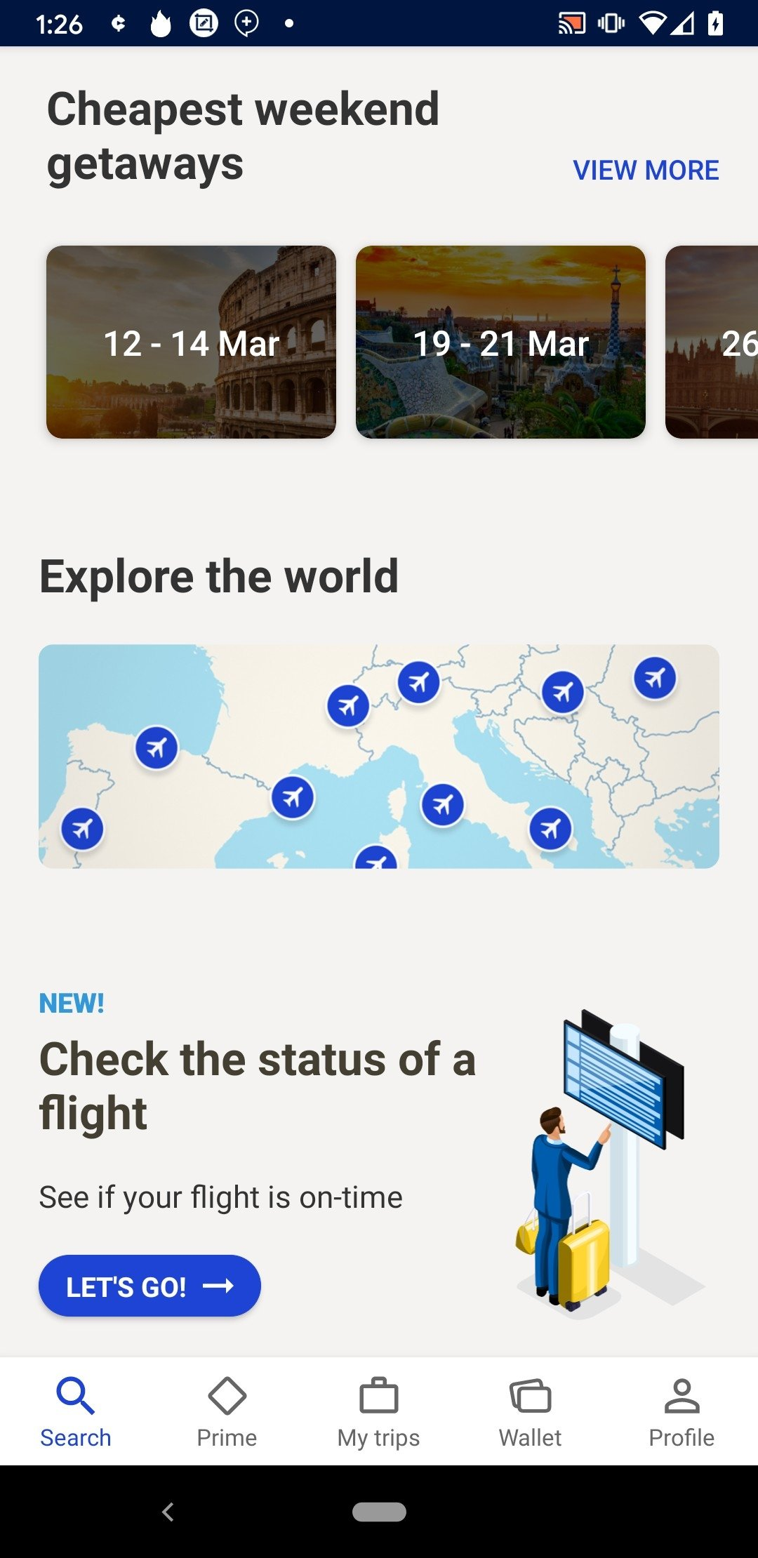 eDreams Flights, Hotels & Cars Android image 8