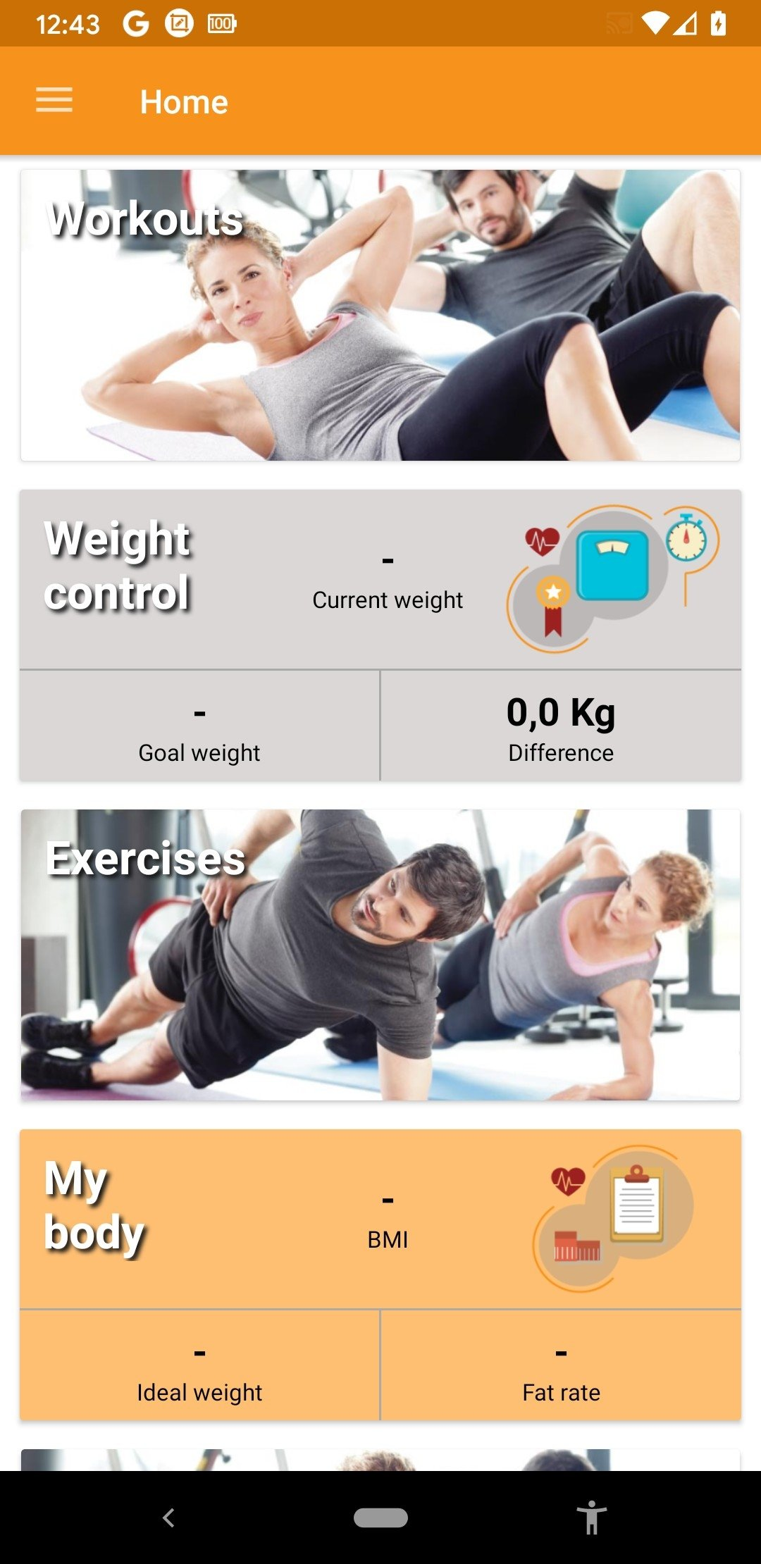 Home Workouts Android image 6