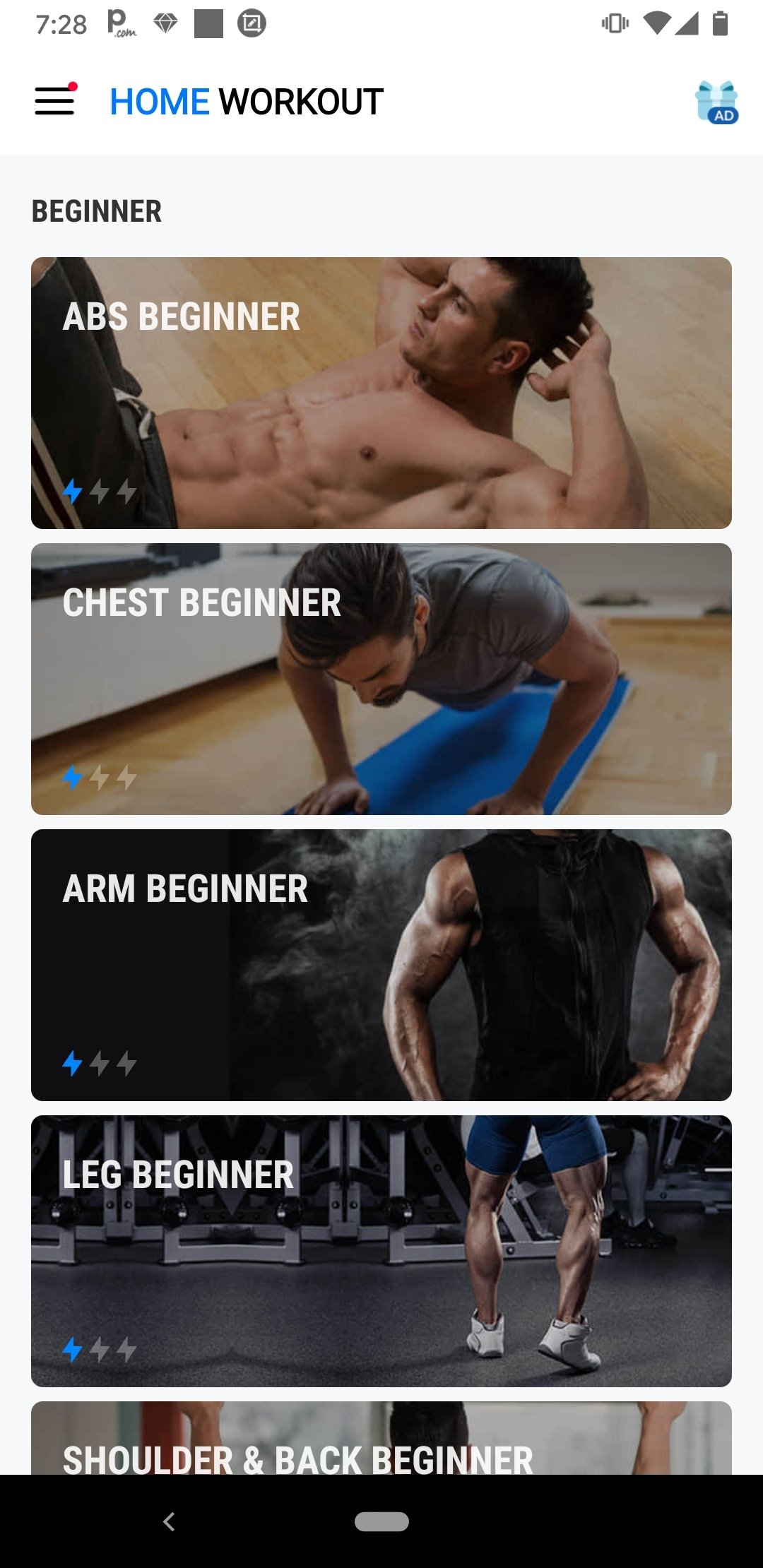 Home Workout - No Equipment 1 0 28 - Download for Android APK Free