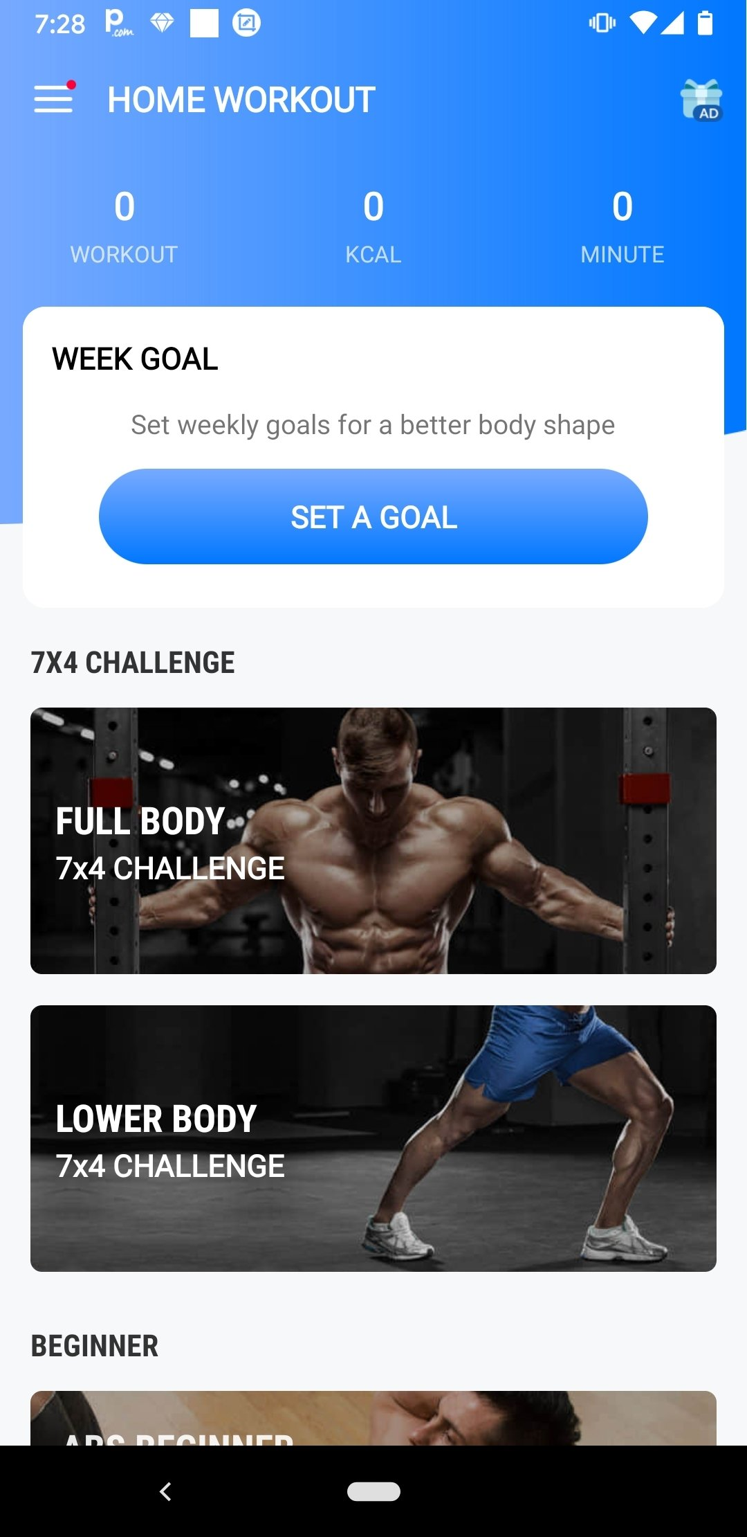 Favorito Download Home Workout - No Equipment 1.0.5 Android - Free MF79