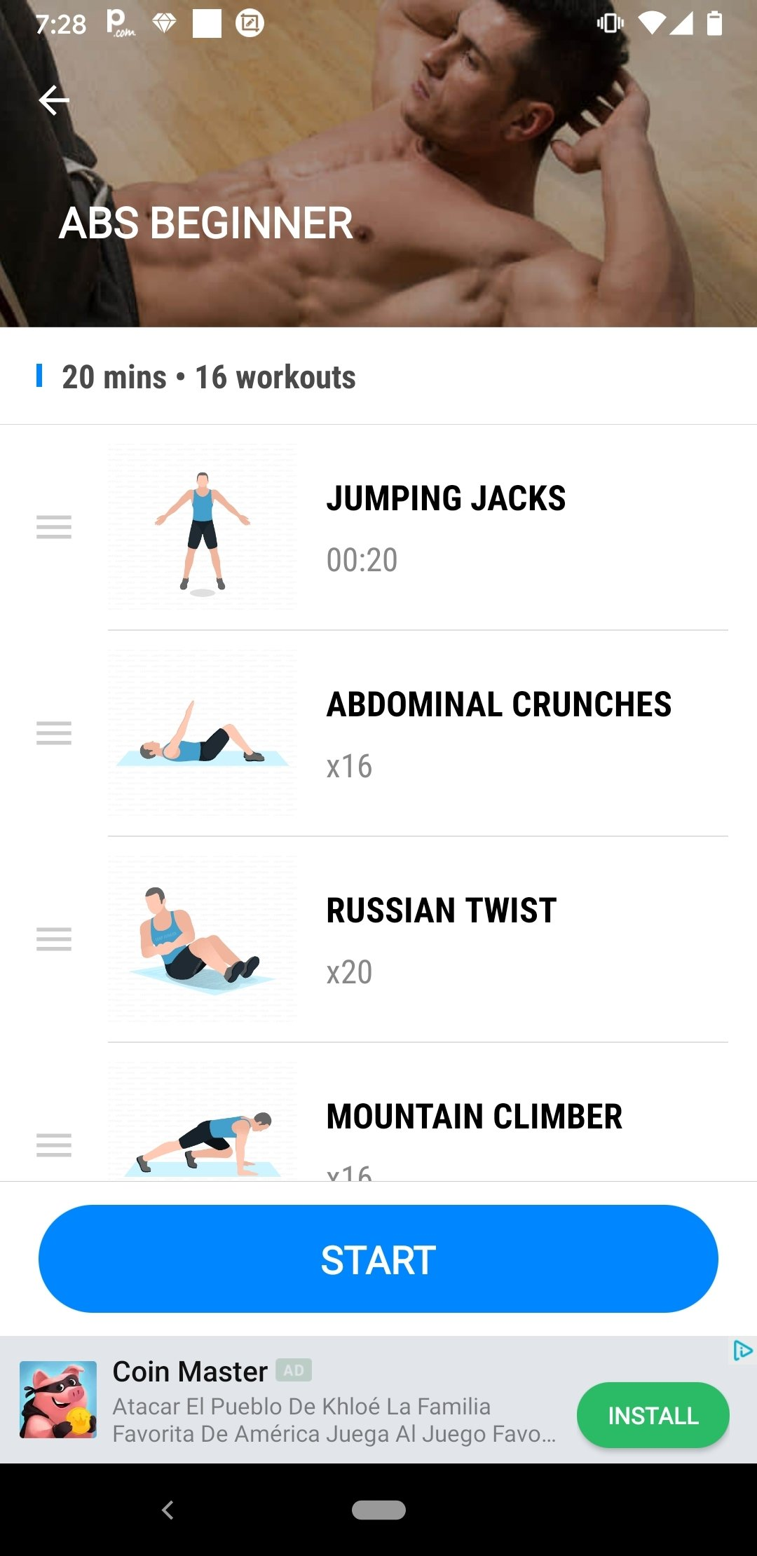 Conosciuto Download Home Workout - No Equipment 1.0.5 Android - Free QD73