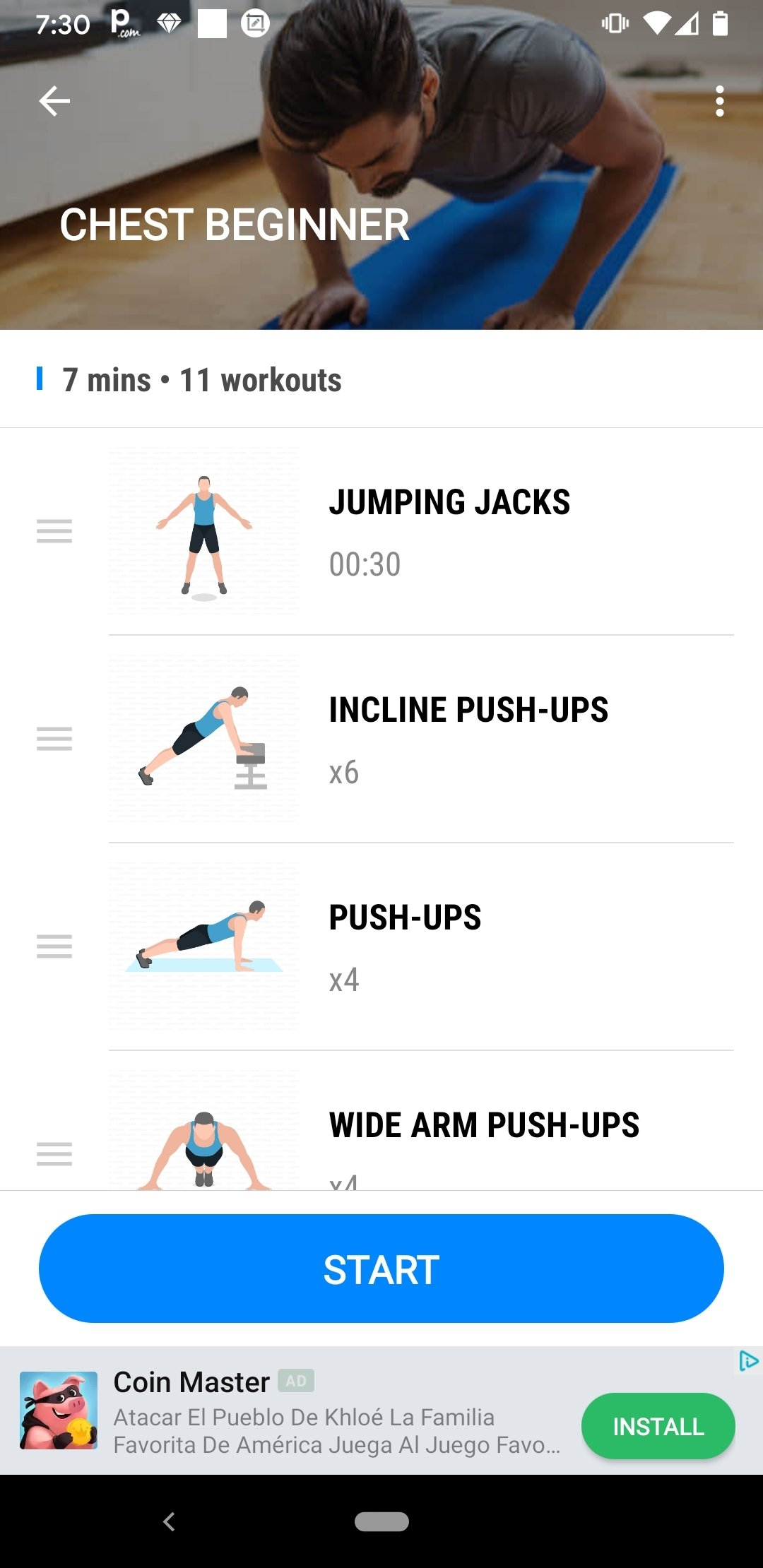 Estremamente Download Home Workout - No Equipment 1.0.5 Android - Free IK08