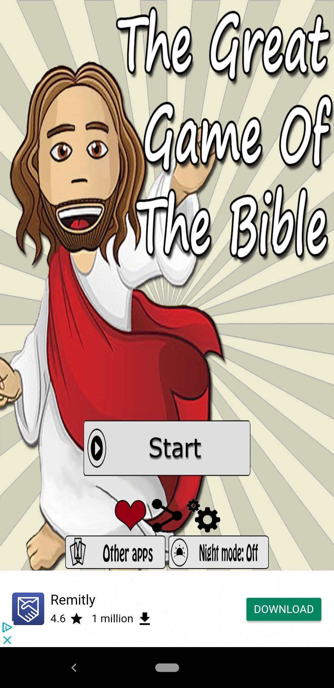 El Gran Juego De La Biblia 1 0 45 Descargar Para Android Apk Gratis