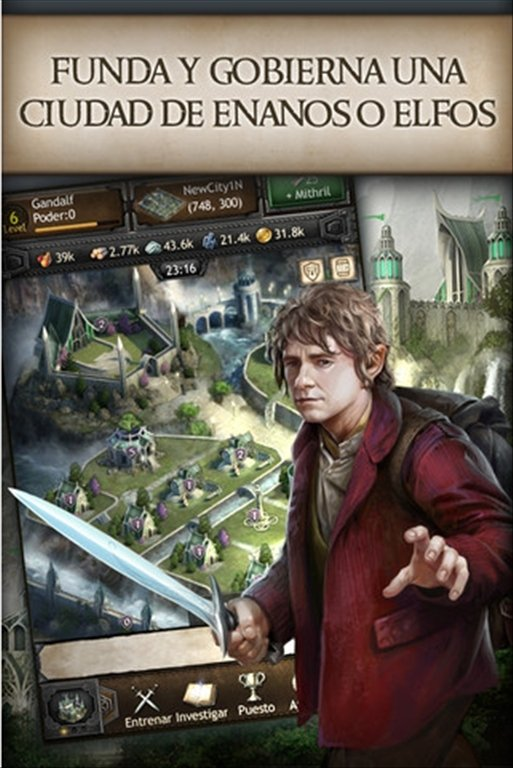 The Hobbit: Kingdoms of Middle-earth iPhone image 5