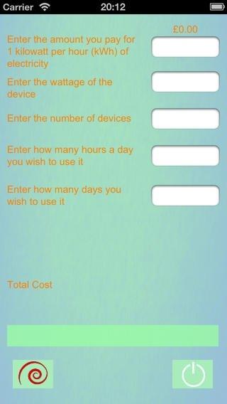 Electocalculator iPhone image 2