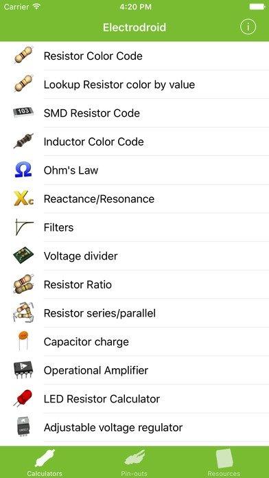 ElectroDroid iPhone image 5