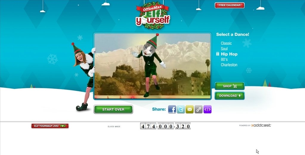 Elf yourself online english free - Office max elf yourself free download ...