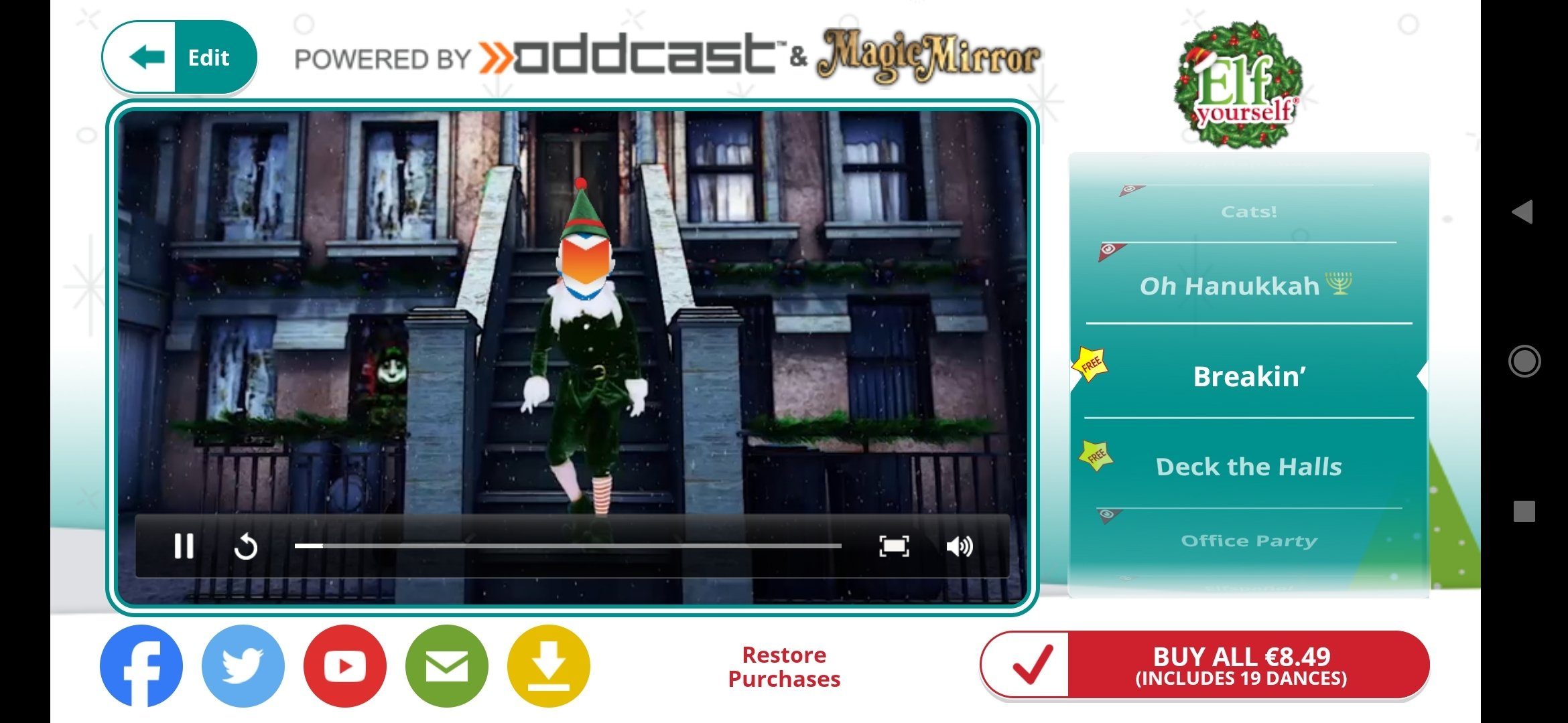 Elf Yourself 7 2 0 - Download for Android APK Free