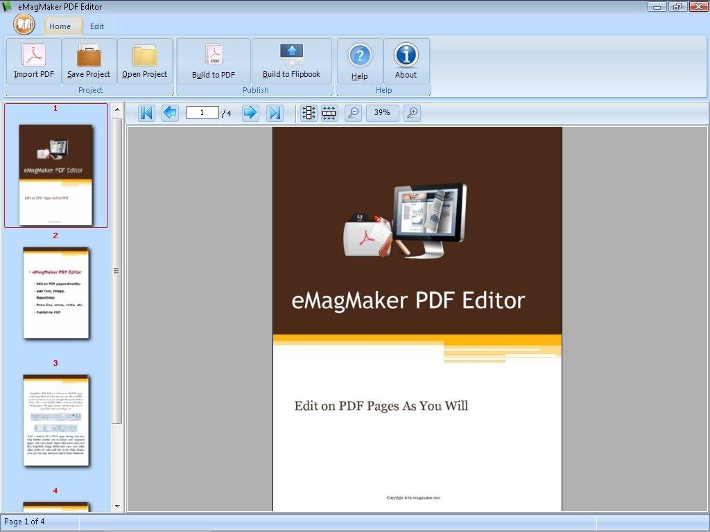 eMagMaker PDF Editor image 4