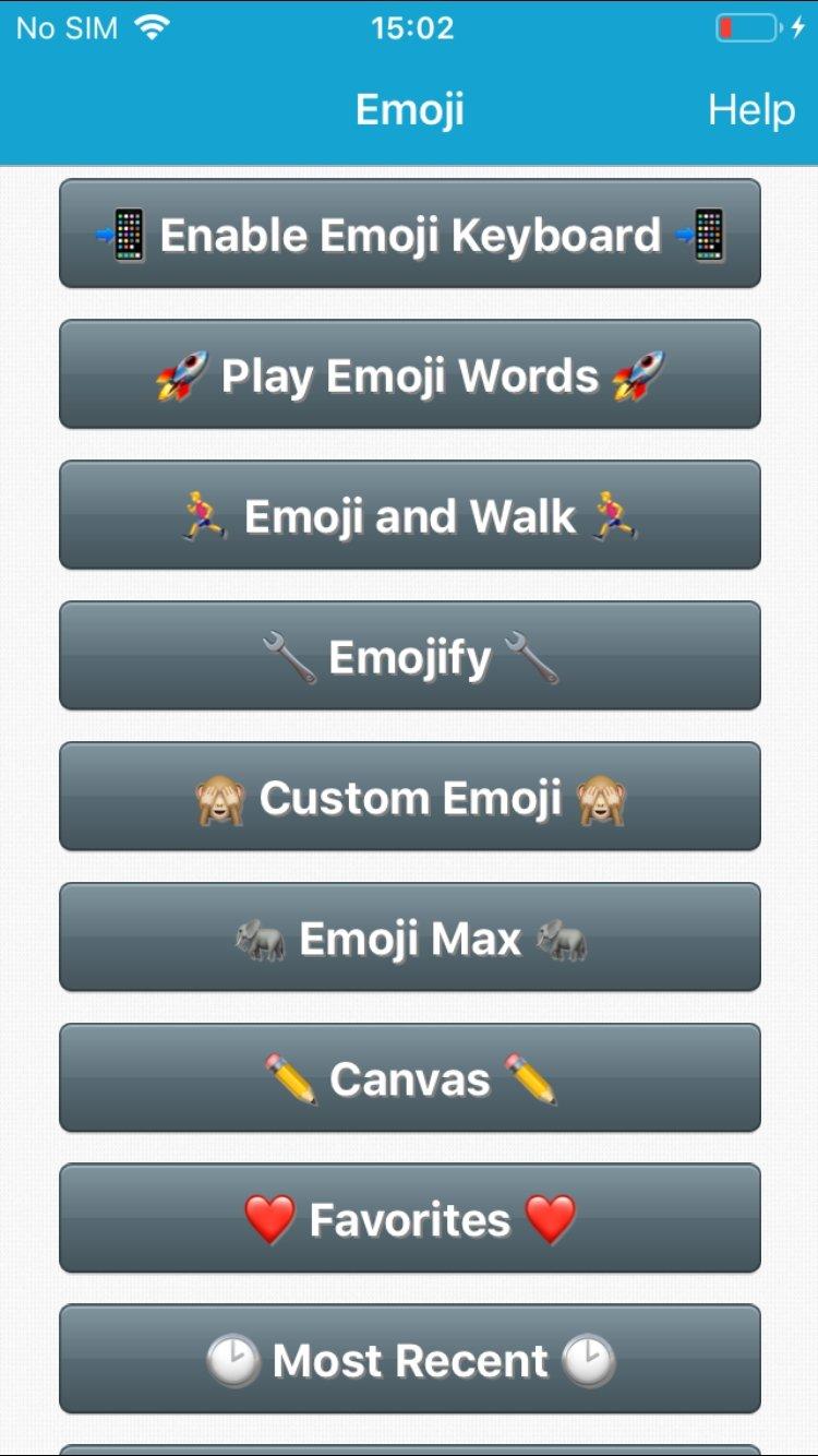 Emoji Gratuit iPhone image 4