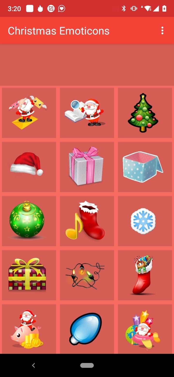 Émoticônes de Noël Android image 3