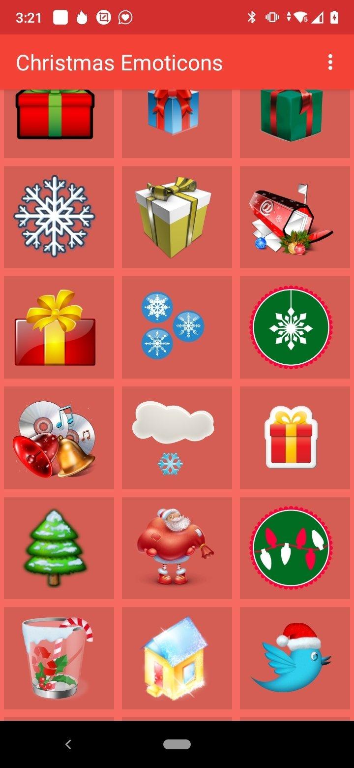 download weihnachten emoticons 2 1 f r android kostenlos. Black Bedroom Furniture Sets. Home Design Ideas