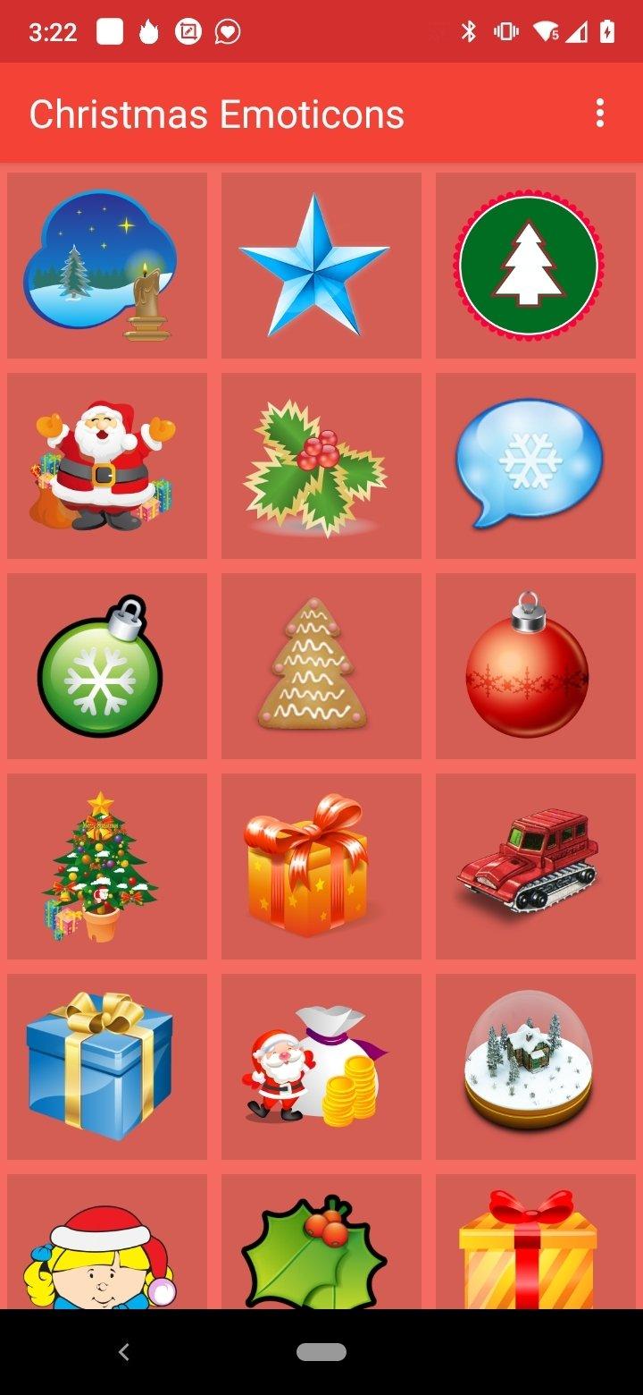 Emoticones De Noel 2 6 Telecharger Pour Android Apk Gratuitement