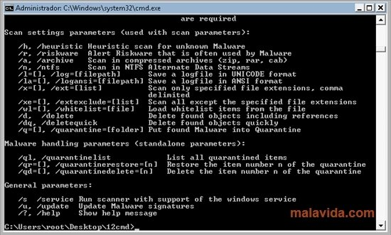 Emsisoft Commandline Scanner image 2