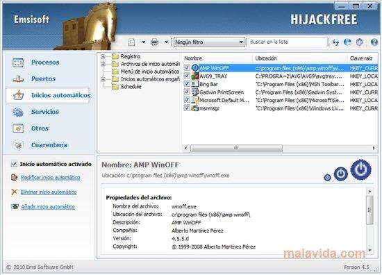 Window Soft Market: Emsisoft HiJackFree 4.5.0.10 Free ...